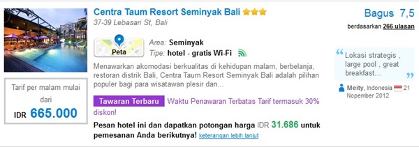 Promo-Centra-Taum-Resort-Seminyak-Bali