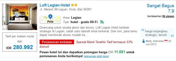Promo-Loft-Legian-Hotel