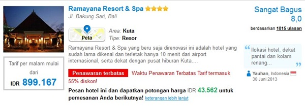 Promo-Ramayana-Resort-Spa