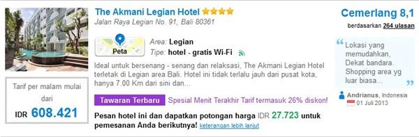 Promo-The-Akmani-Legian-Hotel