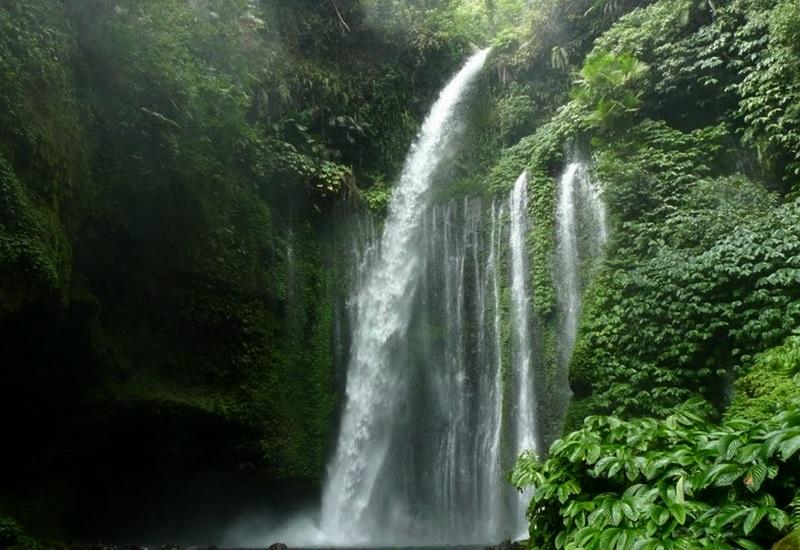 Tempat Wisata di Lombok Air Terjun Sendang Gile