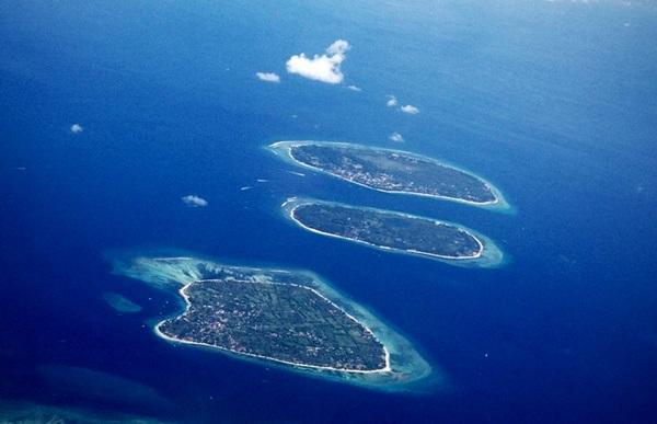 Penampakan Trio Gili Lombok
