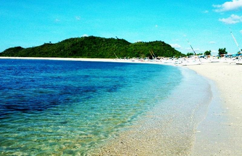 Objek Wisata Pantai Sekotong di Lombok