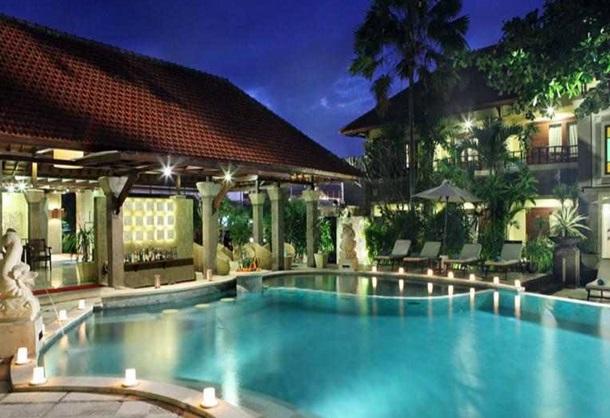 Hotel di Jalan Kartika Plaza Kuta Bali