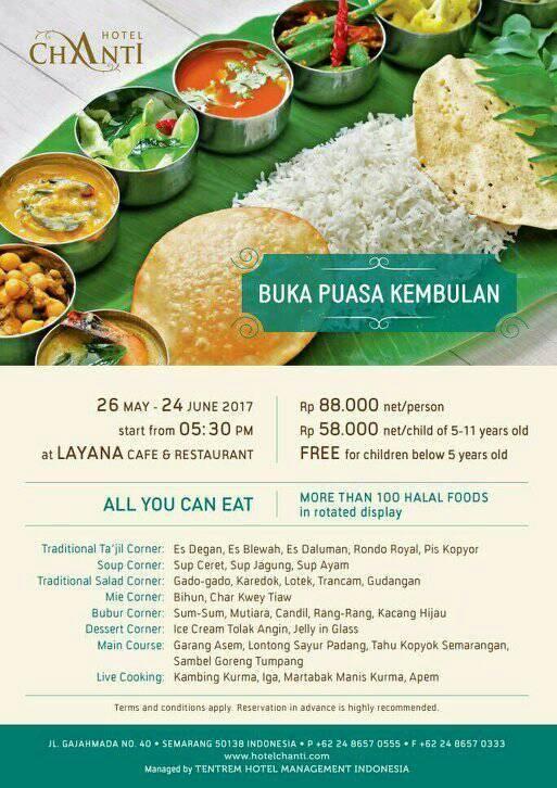 Hotel Chanti Semarang Buka Bersama