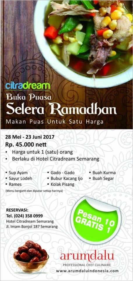 Hotel Citradream Semarang Buka Bersama