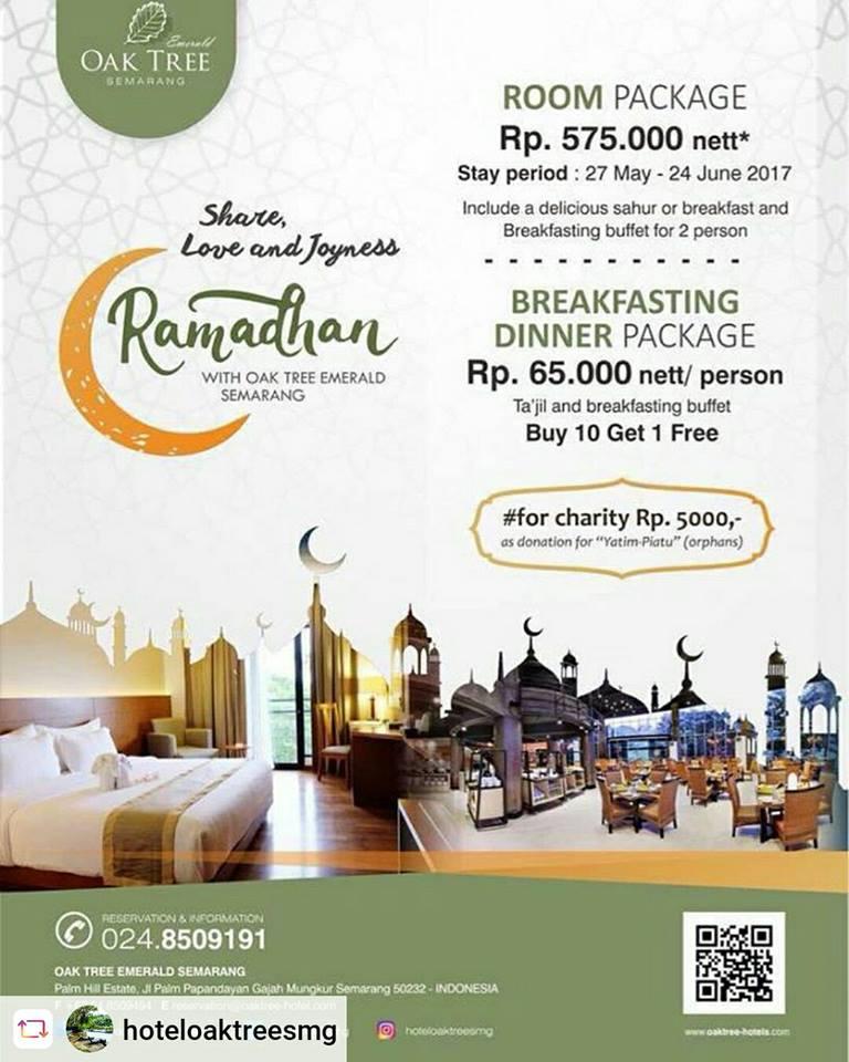 Hotel Oak Tree Semarang Buka Bersama